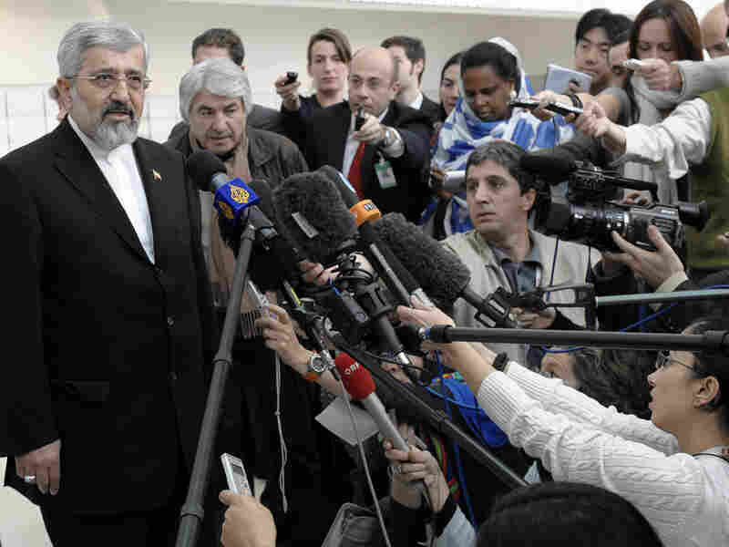 Iran's ambassador to the International Atomic Energy Agency, Ali Asghar Soltanieh