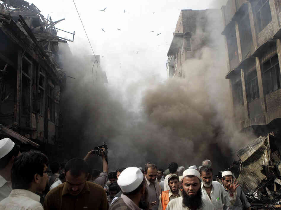 Bombing in Peshawar