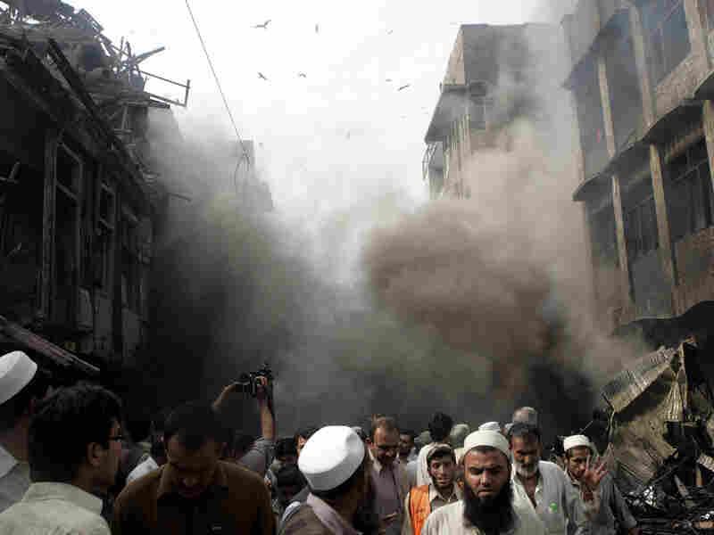 Bombing in Peshawar
