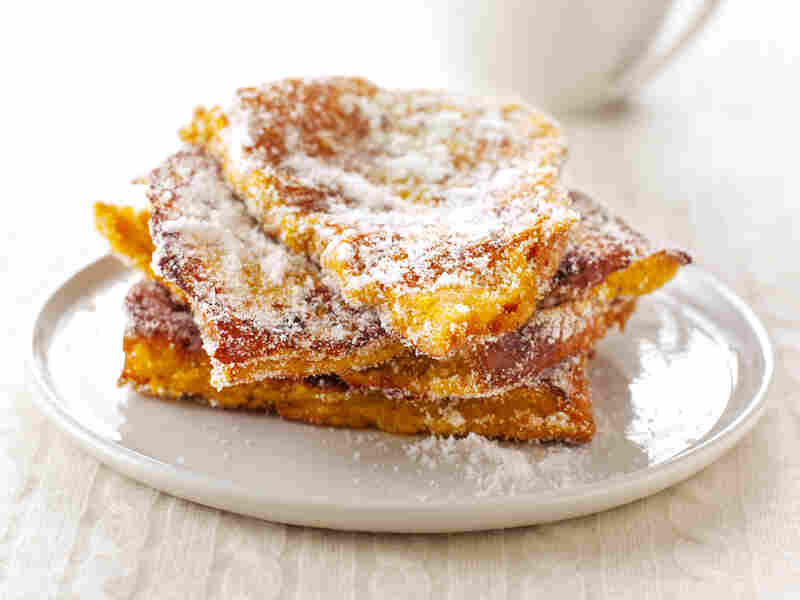 Nigella Lawson's Doughnut French Toast