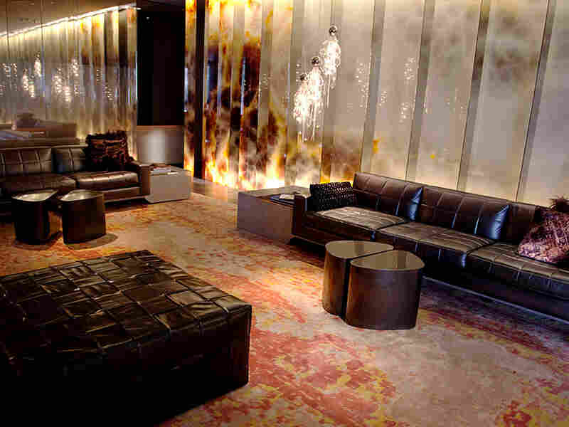 The Andaz West lobby in West Hollywood, Calif.