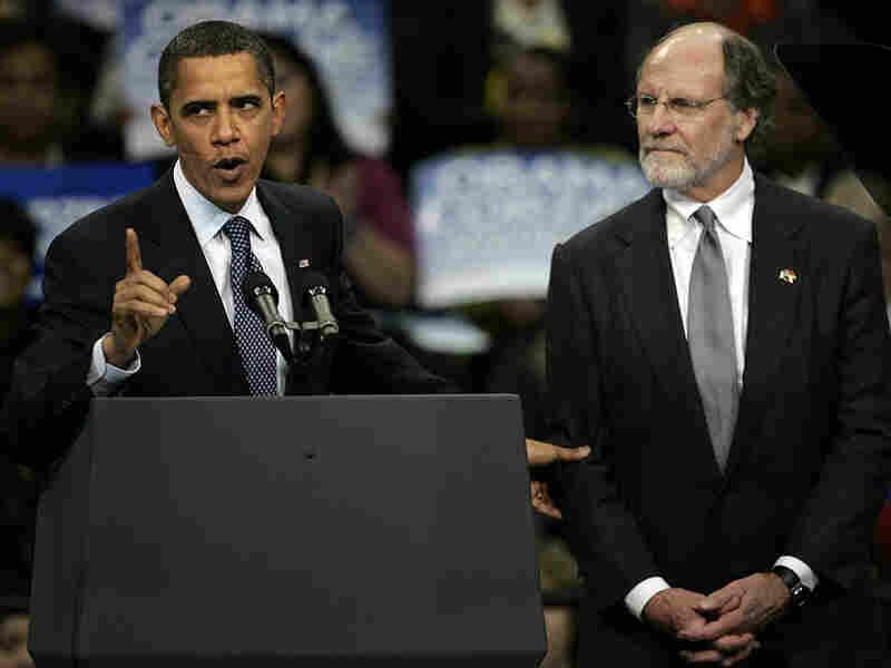 Obama campaigned for New Jersey Gov. John Corzine Nov. 1.