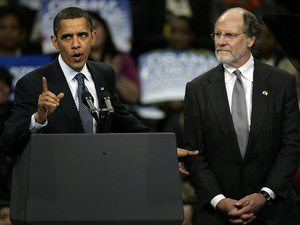 Obama campaigned for New Jersey Gov. John Corzine Nov. 1.