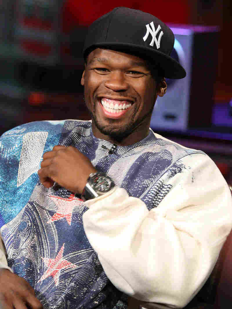 The recording artist 50 Cent