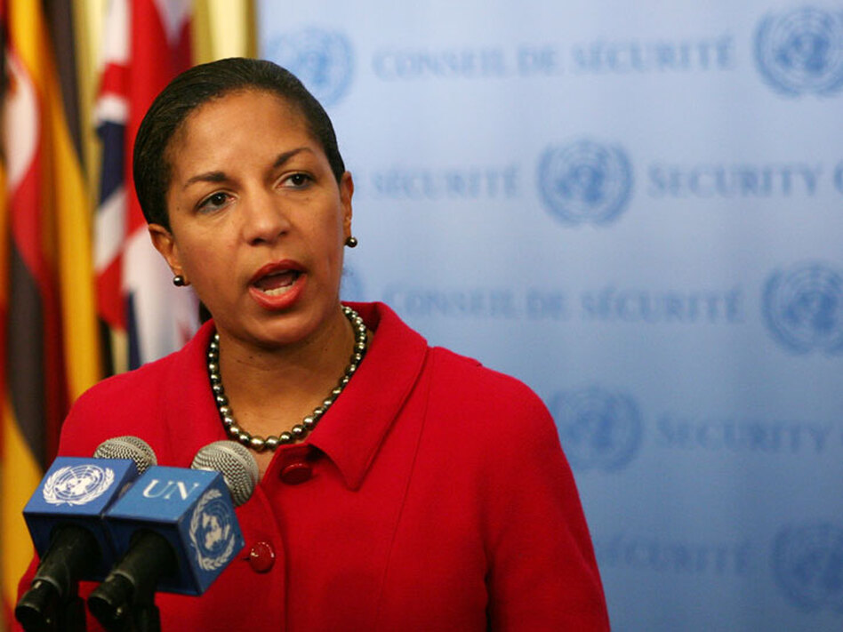 Susan Rice, the U.S. envoy to the U.N., says the time being taken on the Afghan strategy review projects wisdom and strength.