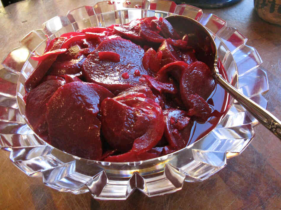 Ginger-Orange Pickled Beets