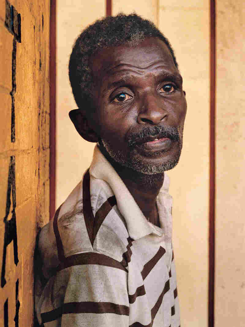 Untitled, 1989: An elderly man
