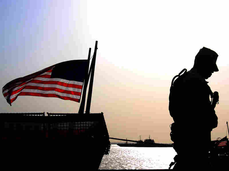 U.S. Flag at half-mast in honor of soldiers killed at Fort Hood
