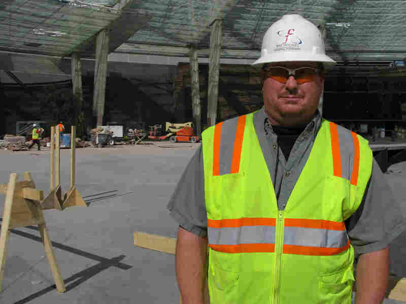 Electrical Supervisor Mike Fritchley