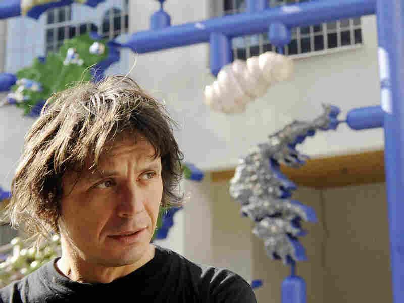 Czech artist and provocateur David Cerny