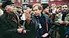 W: Vaclav Havel, dissident playwright and first president of Czech Republic after fall of communism
