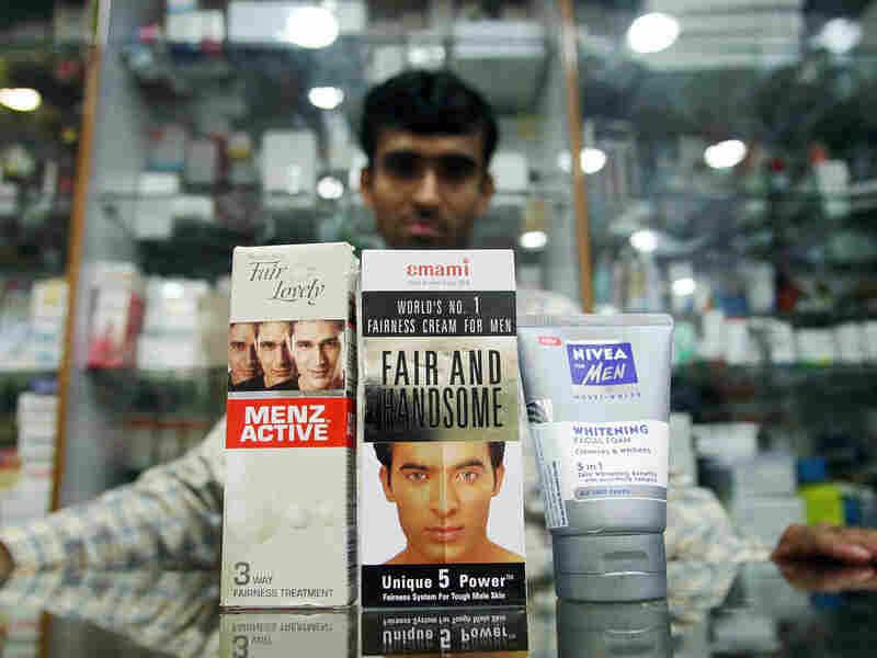 An Indian salesman