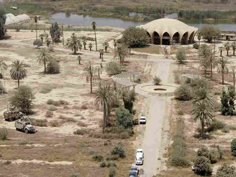 Baghdad Island, a 150-acre park complex popular during Saddam Hussein's rule