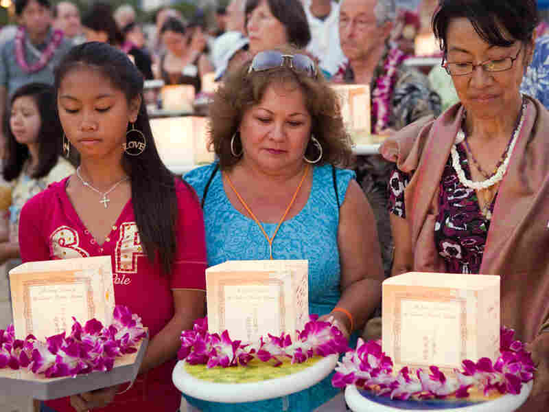 The Lantern Floating Hawaii Ceremony.