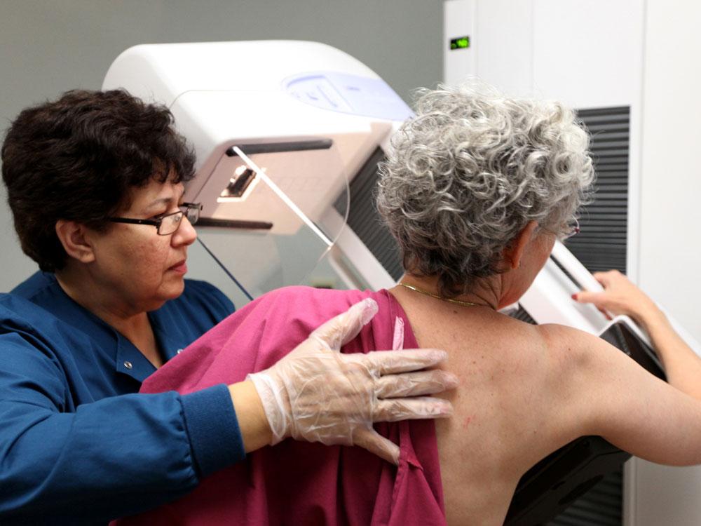 mammogram primarily 50