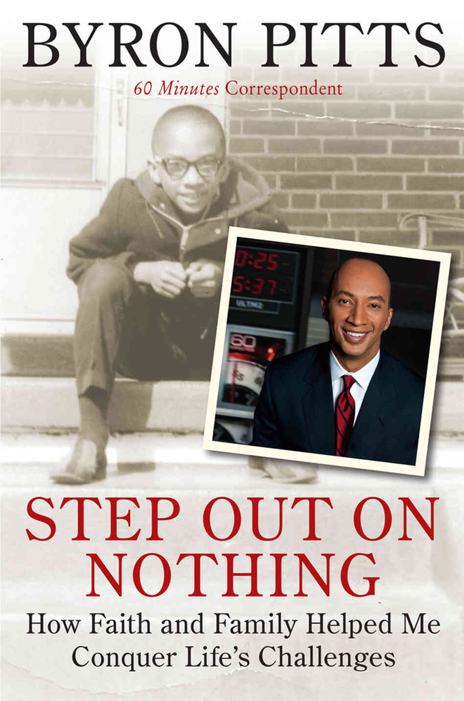 Cover of 'Step Out On Nothing'
