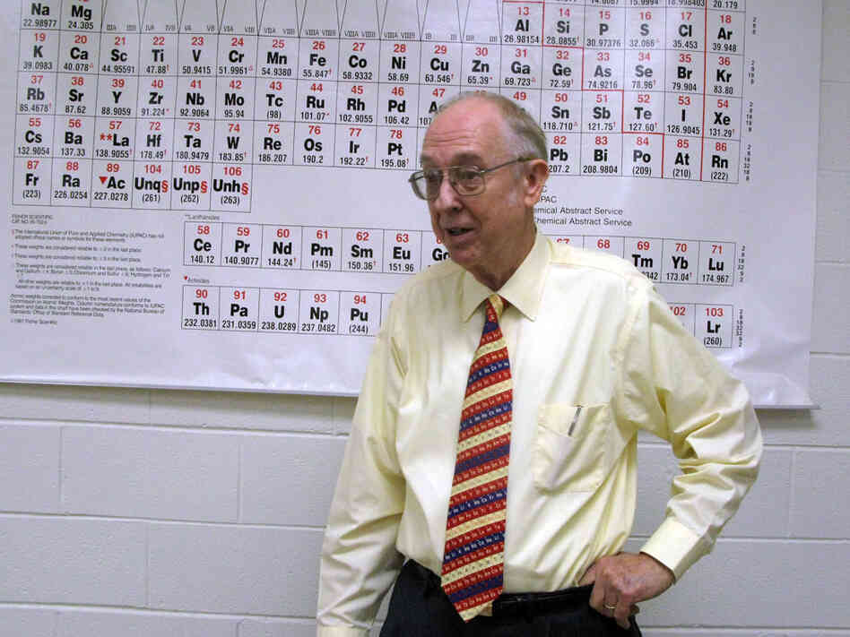 Dr. Garth Faile was Khalid Sheik Mohammed's chemistry professor in the mid-'80s.