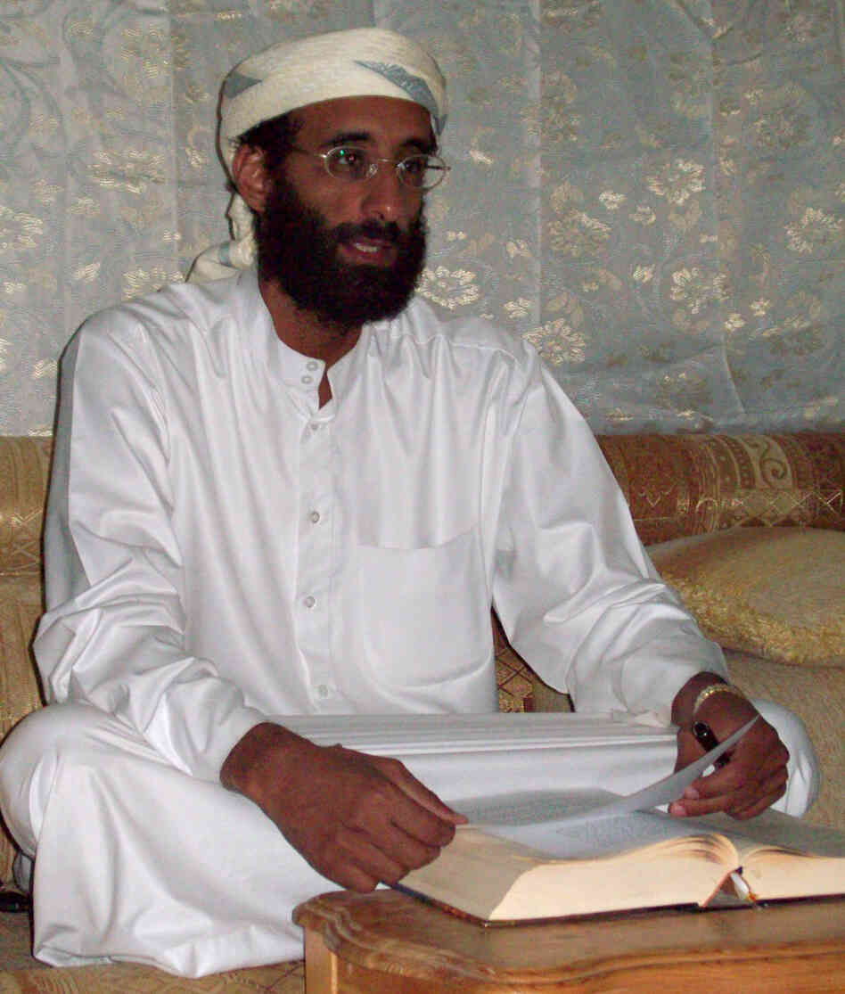 Imam Anwar al-Aulaqi in Yemen, October 2008.