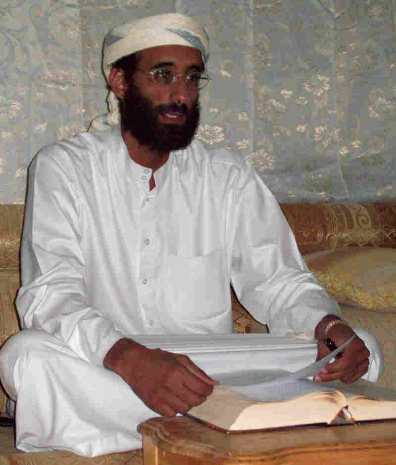 Imam Anwar al-Aulaqi in Yemen, October 2008.