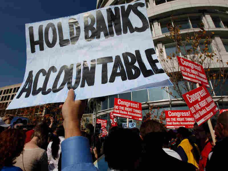 Goldman Sachs protestors