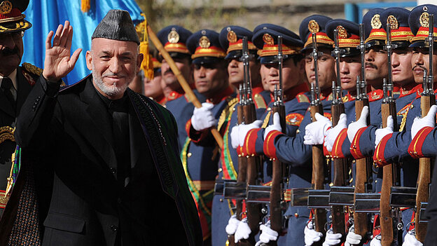Afghan President Hamid Karzai,