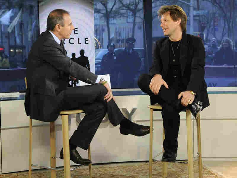 Jon Bon Jovi and Matt Lauer