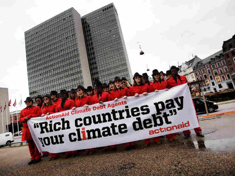 Climate Activists In Copenhagen, Denmark