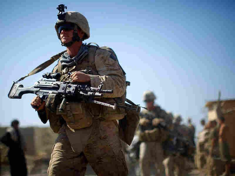 Marines with Fox Company, 2nd Battalion, 8th Marine Regiment