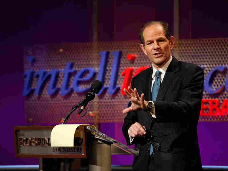 Former New York Gov. Eliot Spitzer