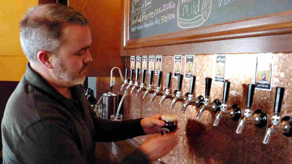 Kevin DeLange, the owner of Dry Dock Brewery, a craft beer maker in Aurora, Colo.