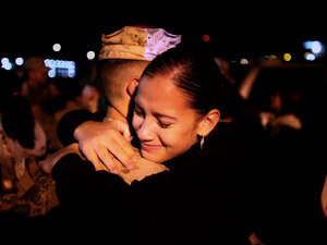 Marines of the 2nd Battalion, 8th Marine Regiment have been returning to Camp Lejeune.