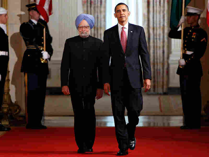 President Obama and Indian Prime Minister Manmohan Singh