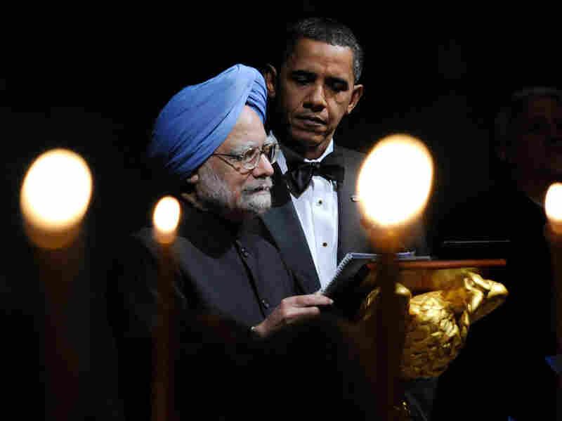 President Barack Obama and Indian Prime Minister Manmohan Singh