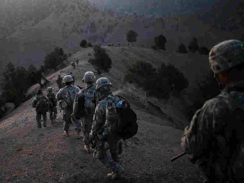 U.S. soldiers in Paktika province in Afghanistan, near the Pakistan border in October 2009