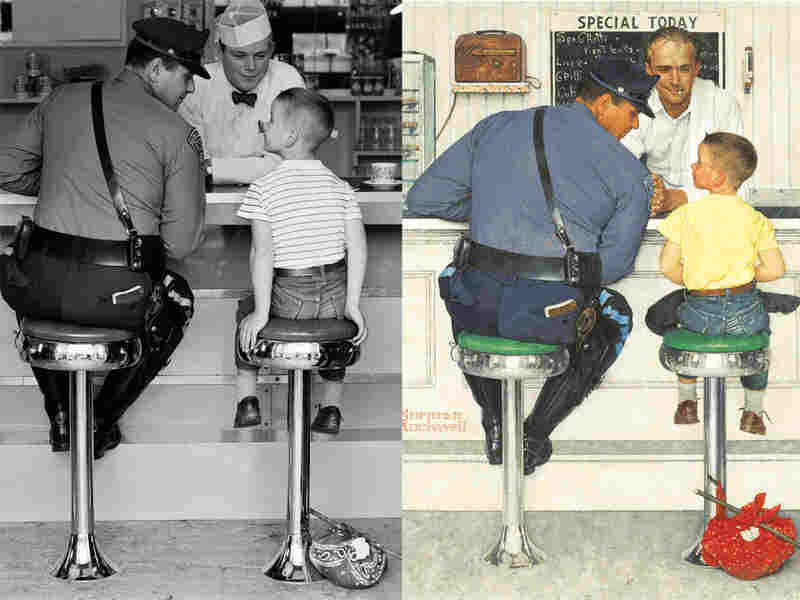 An example of Rockwell's photorealism.