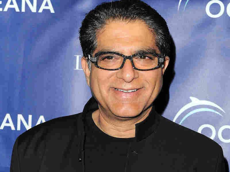 Deepak Chopra arrives to the Oceana 2009 Partners Award Gala on Nov. 20, in Los Angeles.