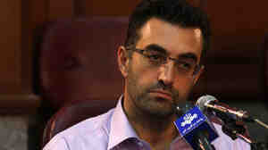 Maziar Bahari, shown in a photo released in August by the semi-official Iranian Fars News Agency.