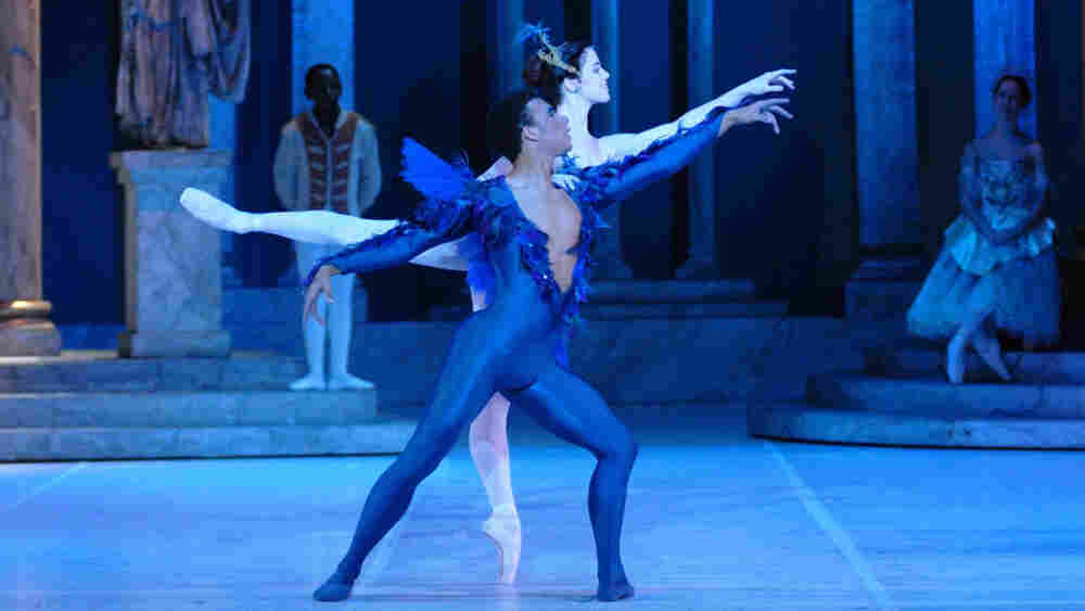 Sarah King and Dion Page in the South African Ballet Theatre's production of 'The Sleeping Beauty.'