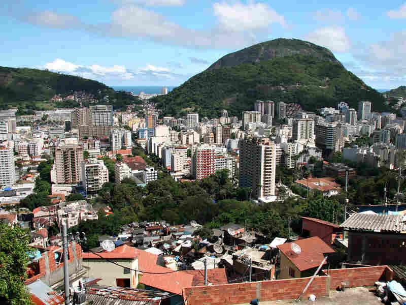 Santa Marta slum in Rio de Janeiro