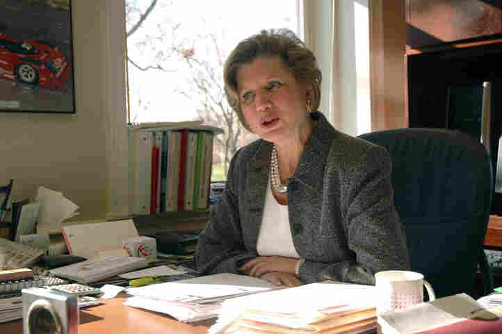 Jo Ann Gora, president of Ball State University