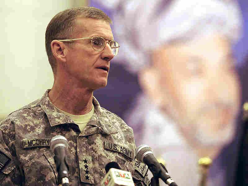 Gen. Stanley McChrystal, the top U.S. commander in Afghanistan