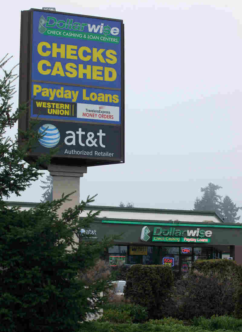A Dollarwise Payday Loan Store