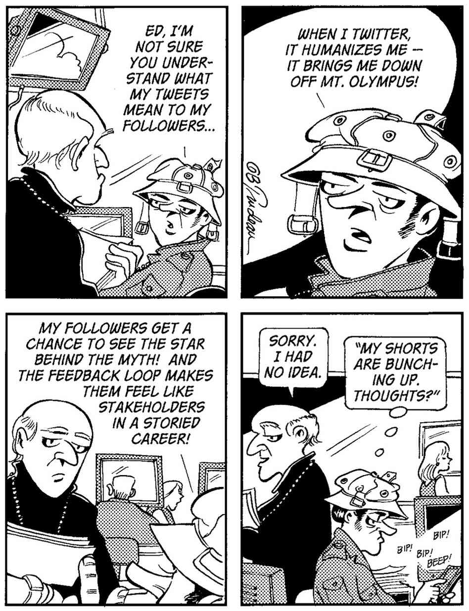 Doonesbury comic strip