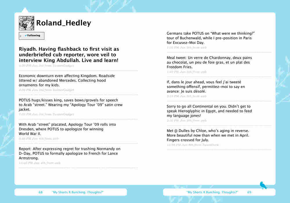 Roland Hedley's Tweets