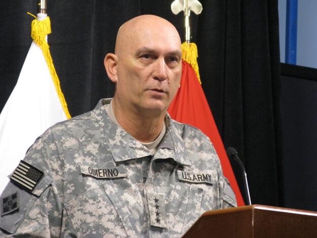 Gen. Ray Odierno, the top U.S. commander in Iraq, says the withdrawal of U.S. troops from Iraq could begin 60 days after the country's national elections. Just before a midnight deadline Sunday, Iraq's parliament approved an election law that clears the way for elections early next year, probably in late February.