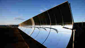 W: SkyFuel unveils a solar thermal system in Colorado.