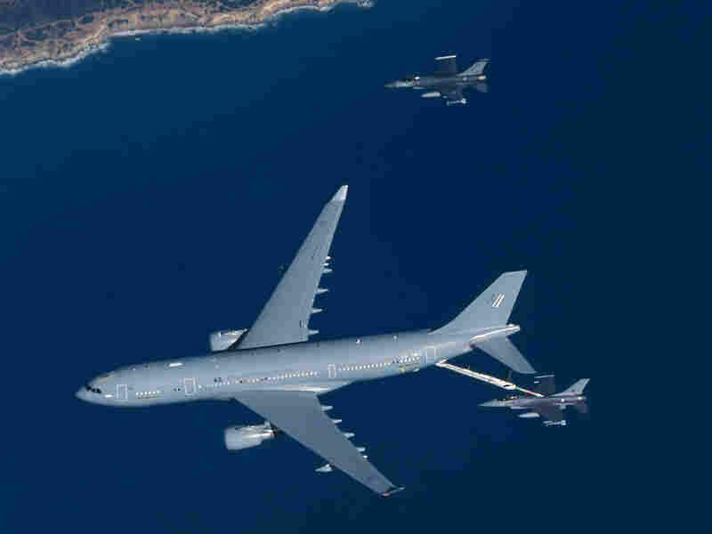 An A330 multirole tanker aircraft
