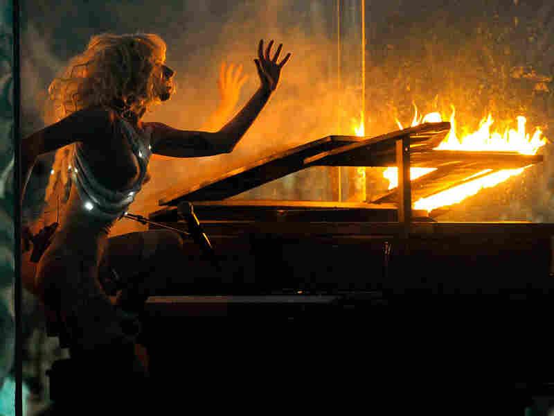 Lady Gaga performs at American Music Awards, Nov. 22 in Los Angeles, Calif.