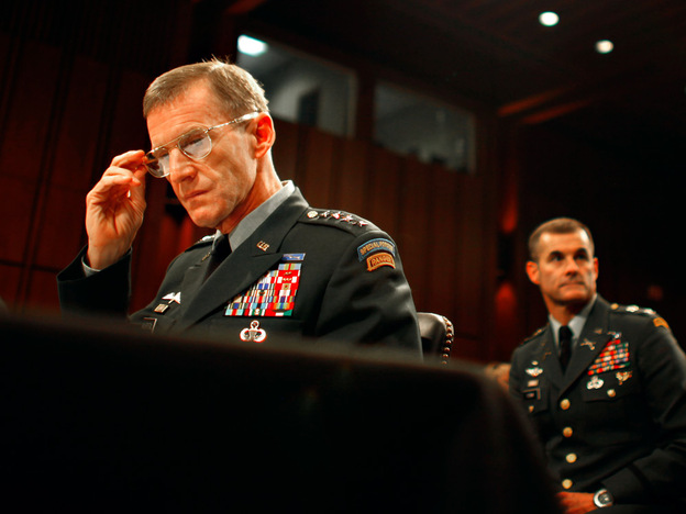 Gen. Stanley McChrystal testified Tuesday before Congress in defense of President Obama's new strategy in Afghanistan.