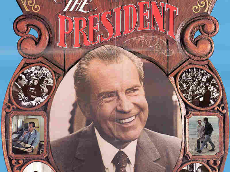 A poster from President Nixon's re-election campaign, 1972.